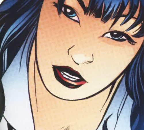 Shy Crazy Lolita Canary of the Super-Young Team (DC Comics) (Japan) face closeup
