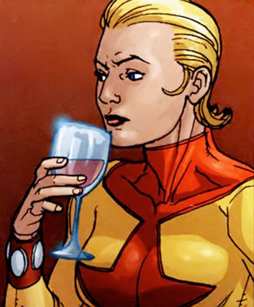Sickle of the People's Heroes (DC Comics) drinking