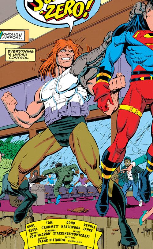 Sidearm vs. Superboy