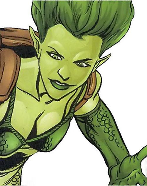 Sidewinder of Task Force X (Suicide Squad enemy) (DC Comics) face closeup