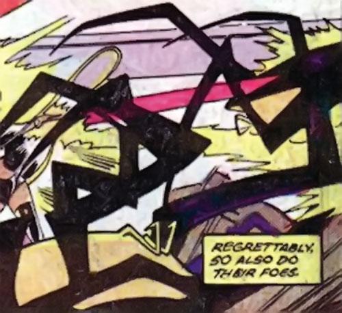 Sidri / Sidrian Hunters (X-Men aliens) (Marvel Comics) vs. Storm