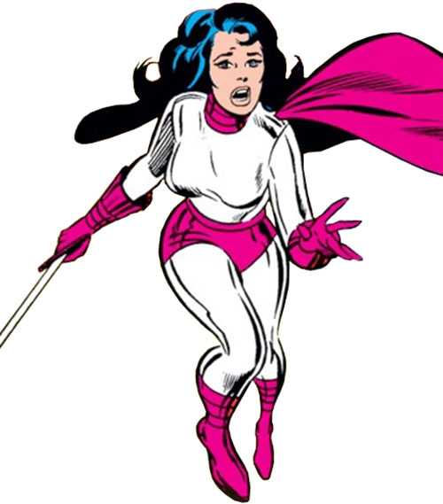 Sif (Thor ally) (Marvel Comics) in silver and pink