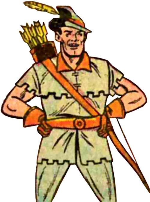 Signalman as the Blue Bowman