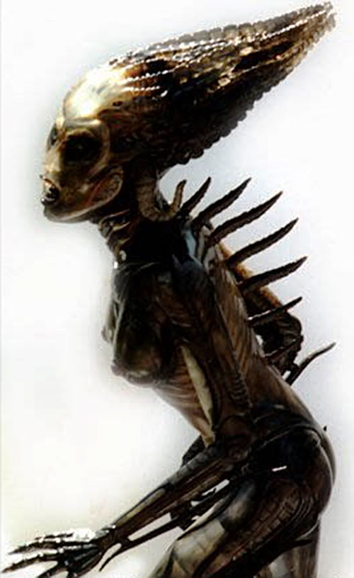 Species - Sil in alien form 1/2