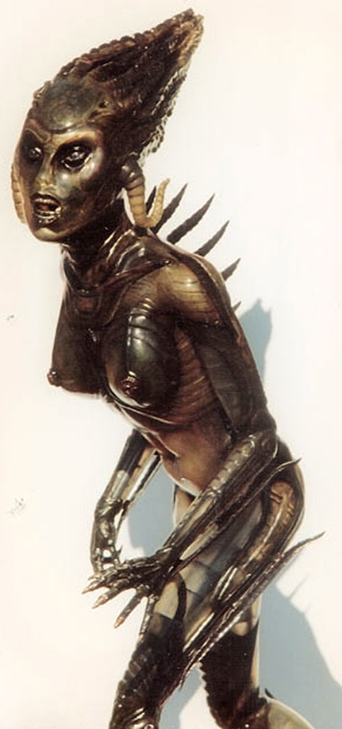 Species - Sil in alien form 2/2