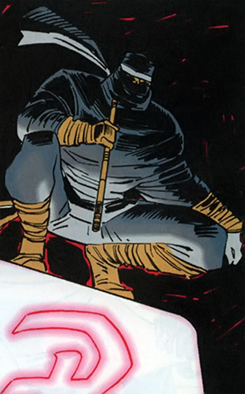 Silence (Punisher enemy ninja) (Marvel Comics)