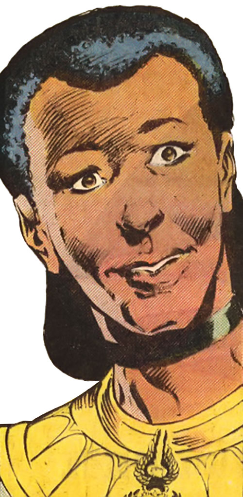 Silencer (Strikeforce Morituri) face closeup