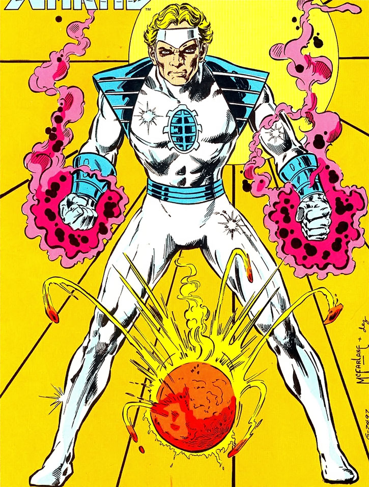 Silver Scarab (Hector Hall) by Todd McFarlane