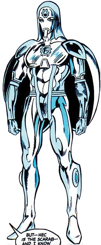 Silver Scarab entity (Infinity, Inc) (DC Comics)