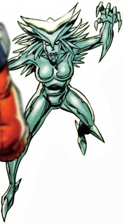 Silver Slasher of the League of Super Assassins (LSH DC Comics)