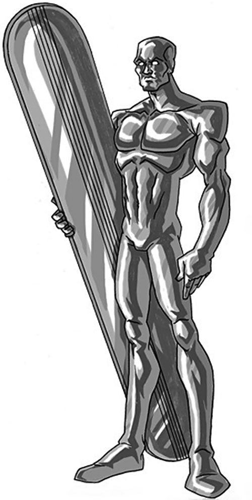 Silver Surfer (Marvel Comics) by RonnieThunderbolts