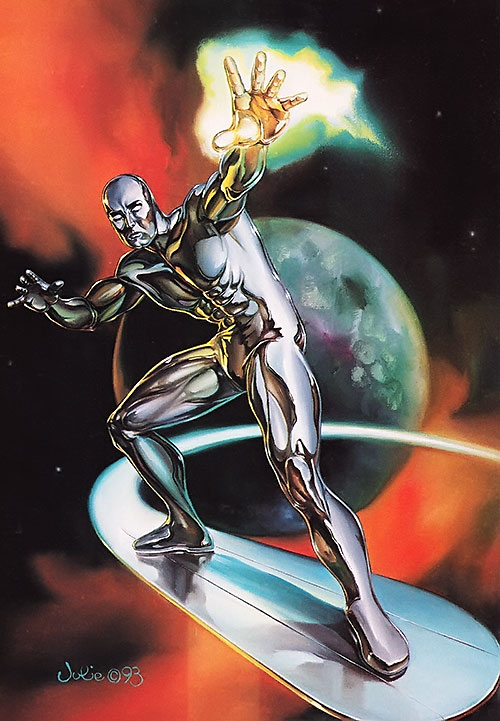 Silver Surfer (Marvel Comics) by Julie