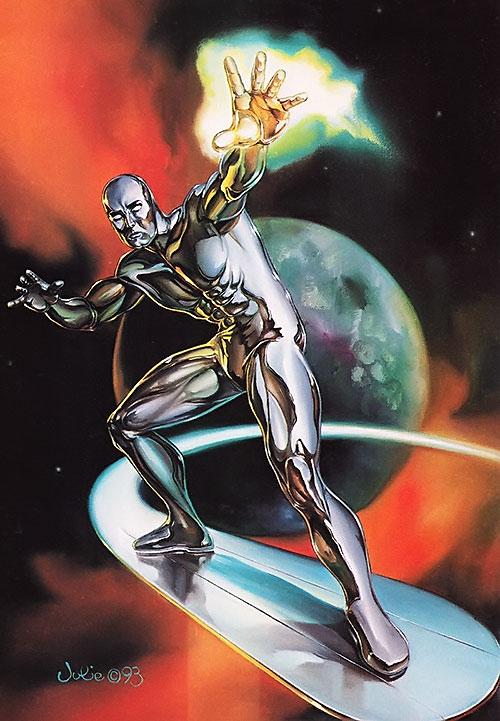 Silver Surfer (Marvel Comics) by Julie