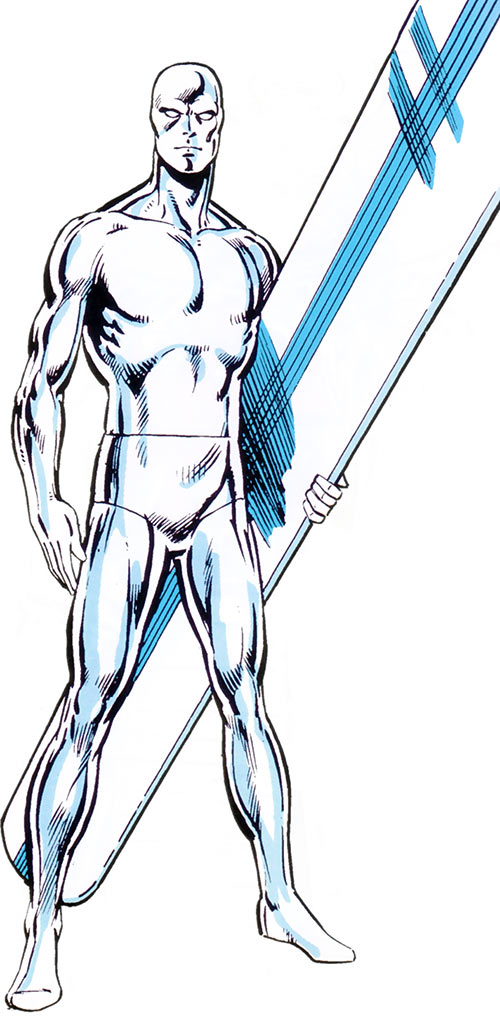 Silver Surfer (Marvel Comics) from the handbook