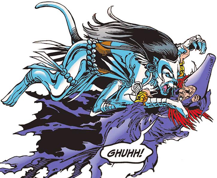 Silverclaw vs. Kulan Gath