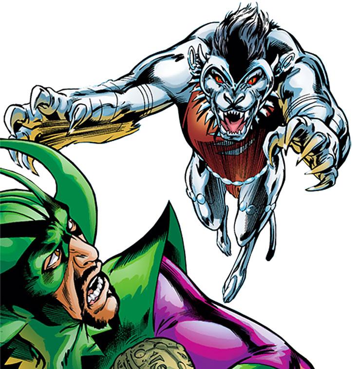 Silverclaw (Maria Santiago) vs. Diablo