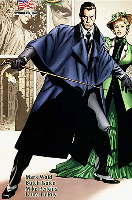 Simon Archard (Ruse comics) ready for a fight