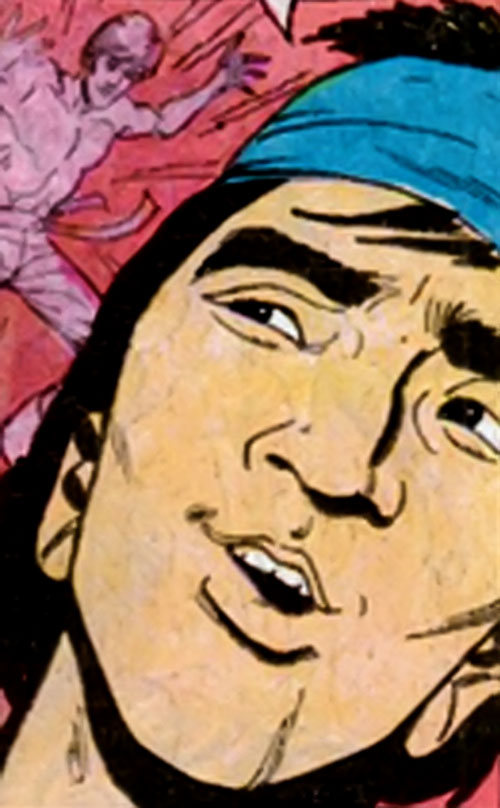 Sing (Richard Dragon enemy) (DC Comics) face closeup