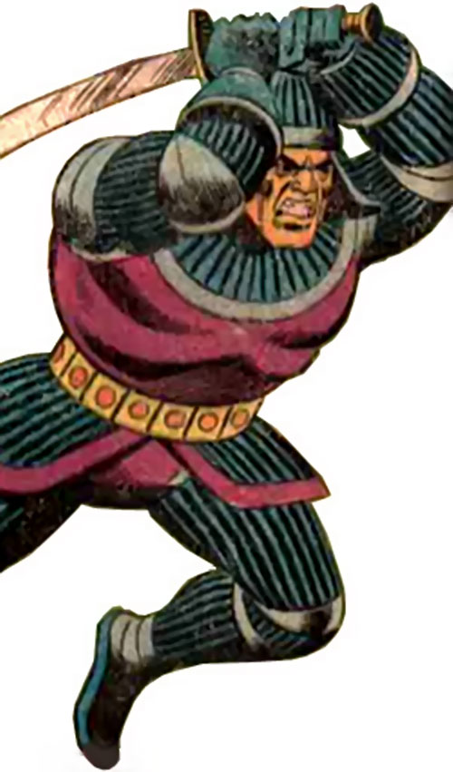 The Sinister Samurai (Richard Dragon enemy) (DC Comics)