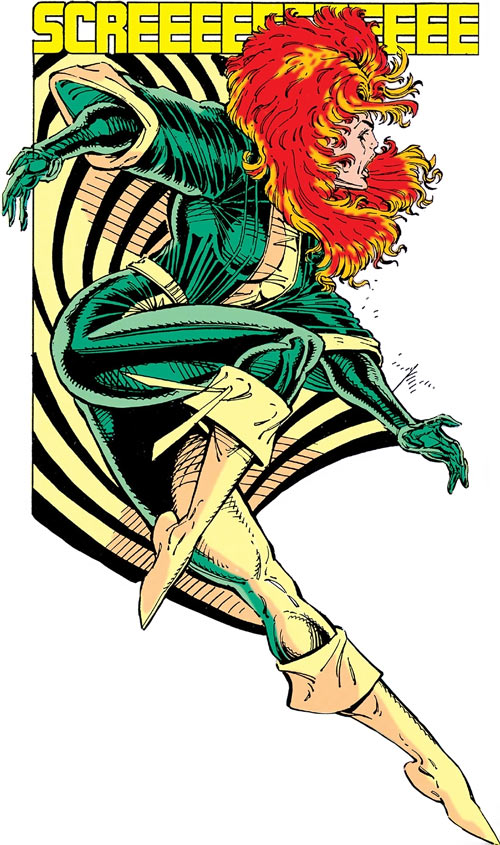 Siryn of X-Force (Marvel Comics) (Cassidy) by Liefeld, alas