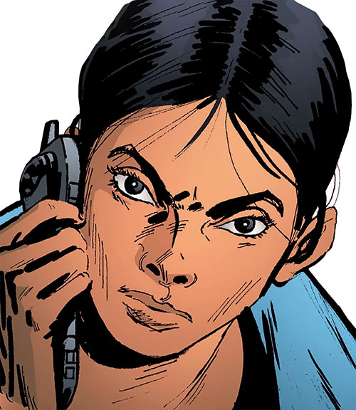Sita Patel (Global Frequency Run comics)
