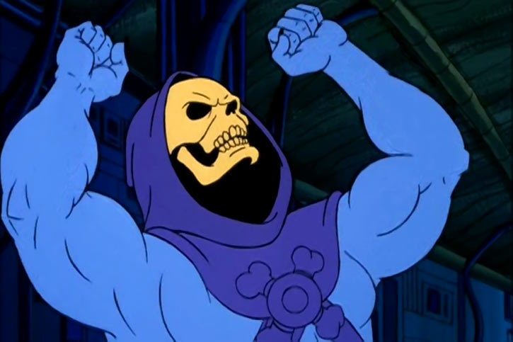 Skeletor (Masters of the Universe 1980s cartoon) frustration