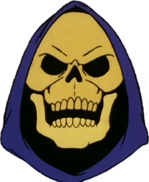 Skeletor (Masters of the Universe 1980s cartoon) portrait