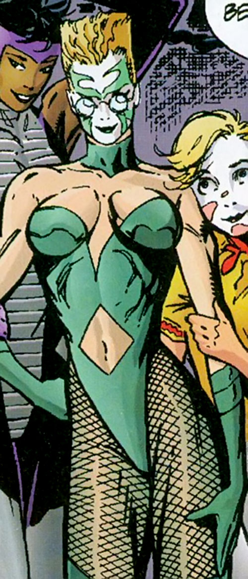 Laura Tucci as a Skin Dance victim (DC Comics)
