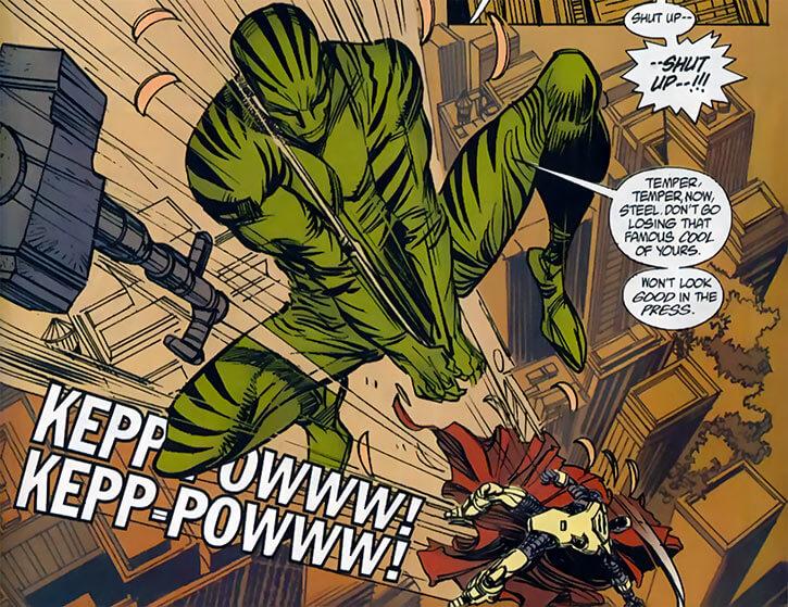 Skorpio - DC Comics - Steel villain - High fight