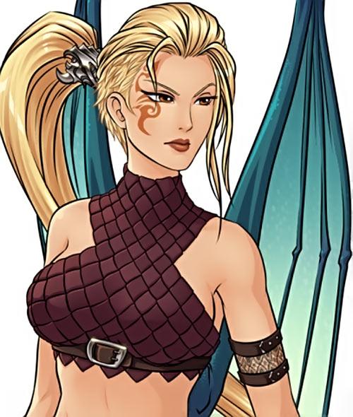 Skyborn video game - Alda Kims