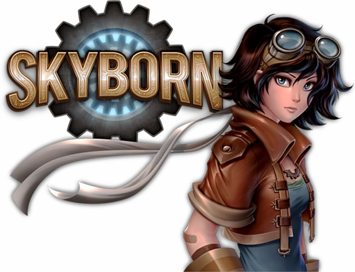 Skyborn title and heroine