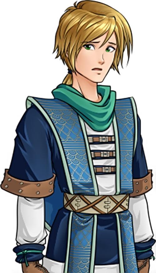 Skyborn video game - Corwin Elenthir - aghast