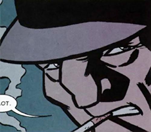 Slam Bradley (DC Comics) (Catwoman ally) face closeup