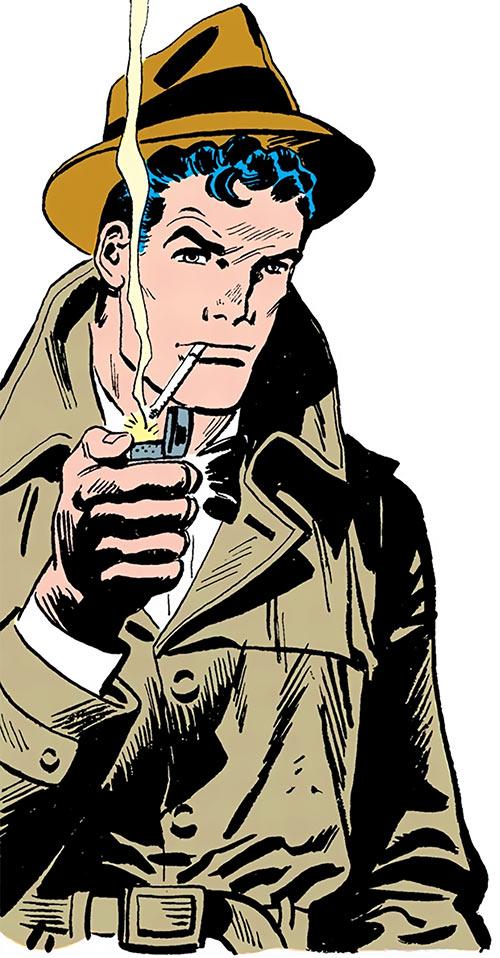 Slam Bradley (DC Comics) in his youth