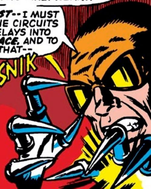 Slasher (Iron Man enemy) (Marvel Comics)