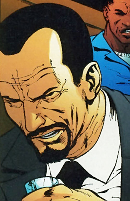 Slaughterhouse Smith (Wildstorm Comics) (Wildcats / Stormwatch enemy) face closeup