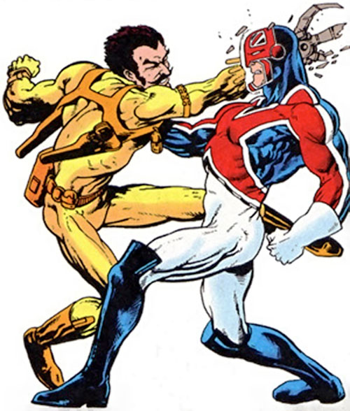 Slaymaster (1980s Marvel Comics) vs. Captain Britain