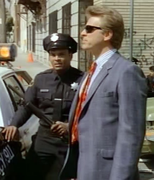 Sledge Hammer (David Rasche) with sunglasses