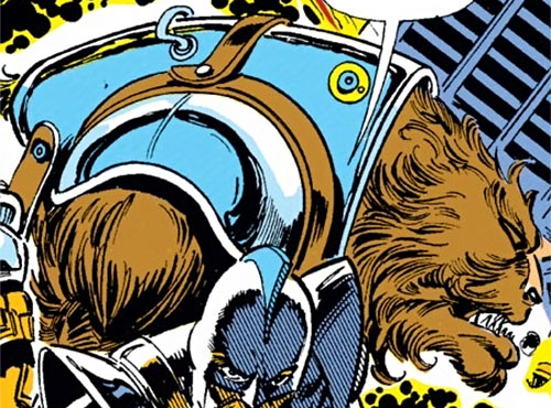 Sloth of the Gatherers (Avengers enemy) (Marvel Comics) and Swordsman