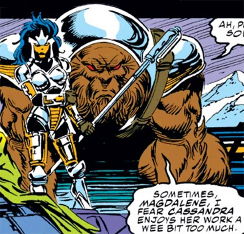 Sloth of the Gatherers (Avengers enemy) (Marvel Comics) and Magdalene