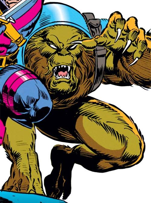 Sloth of the Gatherers (Avengers enemy) (Marvel Comics)