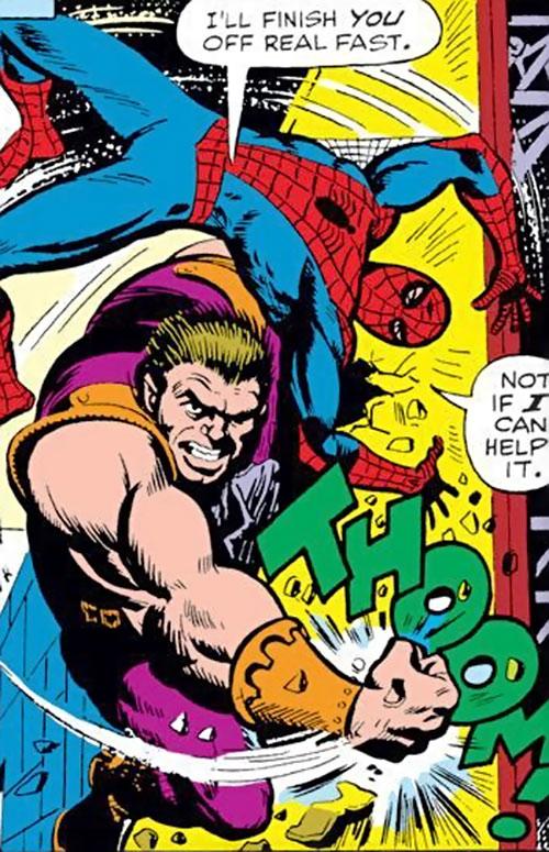 Smasher aka Man-Monster (Marvel Comics) vs. Spider-Man