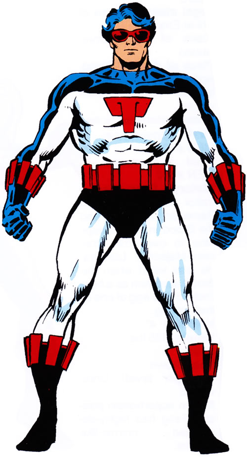 Smasher of the Shi'ar Imperial Guard (Marvel Comics) from the older Handbook