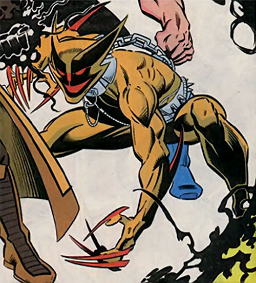 Smiling Tiger of the Folding Circle (New Warriors enemy) (Marvel Comics)