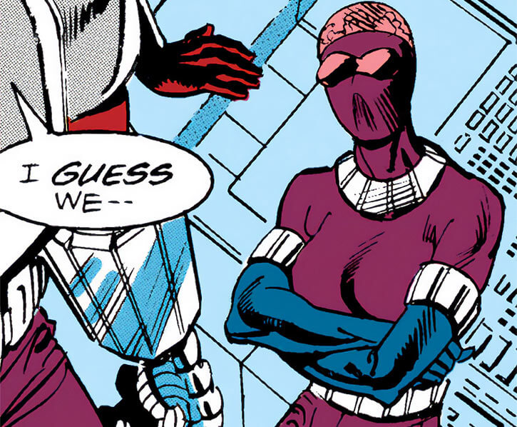 Smokescream (Nick Fury enemy) (Marvel Comics) in solid form