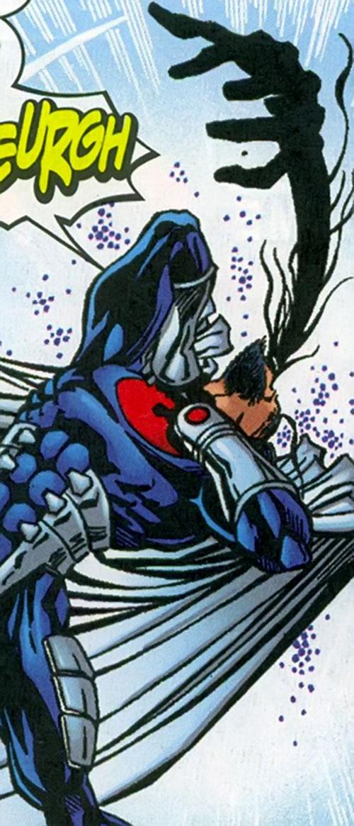 Smuggler (Conrad Josten) of the Redeemers (Marvel Comics Thunderbolts) vs. Graviton
