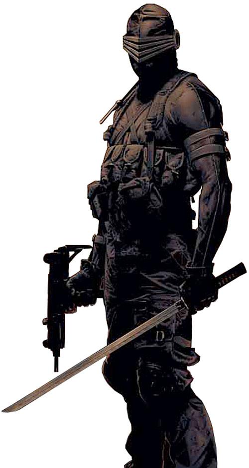 Snake Eyes (G.I. Joe comics) by Bradstreet