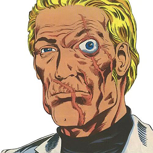 Snake Eyes (G.I. Joe comics) unmasked face