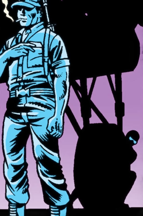 Snake Eyes (GI Joe Marvel Comics) stealth