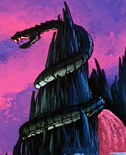 Snake Mountain - Skeletor - Masters of the Universe